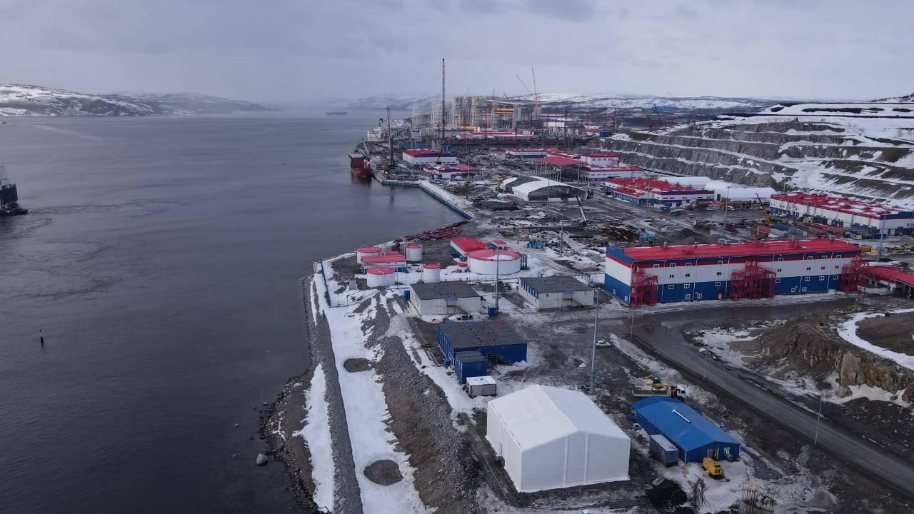 Завершены работы по строительству учебного центра для «Арктик СПГ2».
