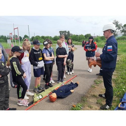 Тверьэнерго провело урок на городском дне безопасности в городе Кашин