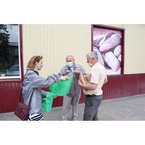 Жителям Большеберезниковского района Мордовии 20 экологичных сумок