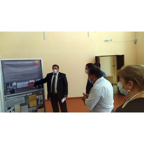 Активисты открыли выставку «Без срока давности» в селе Кишпек КБР