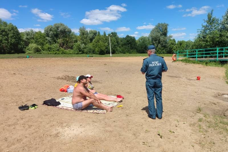 ОНФ и МЧС Мордовии напомнили любителям отдыха о правилах безопасности