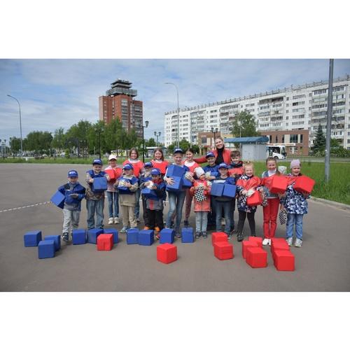 В «Мариэнерго» организовали детский спортивный праздник