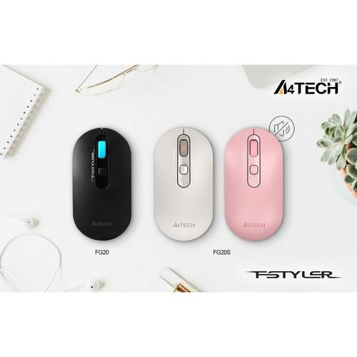 Обновление мыши FG20 от A4Tech: новый цвет и бесшумная версия