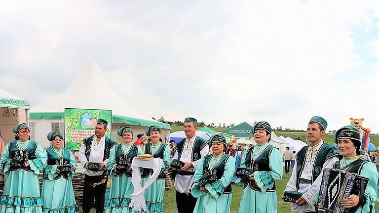 Сабантуй в Чувашии  стал праздником дружбы народа