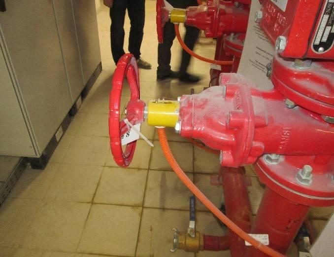 Система контроля пожарной безопасности (СКПБ)