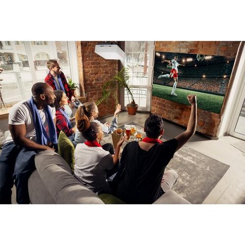 4К лазерный проектор LG Cinebeam HU810PW c экраном до 300 дюймов