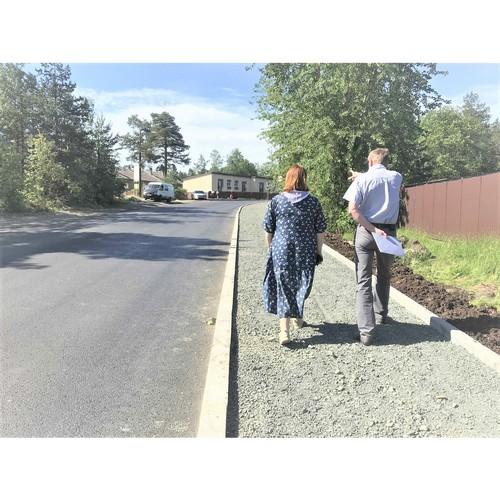 В Петрозаводске начался ремонт дорог, на которые жаловались жители