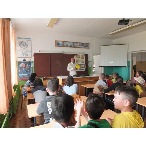 В летнем лагере (Марий Эл) прошло занятие по электробезопасности