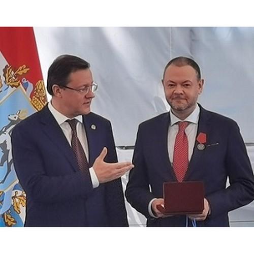 В честь Дня России ректору ТГУ вручили государственную награду