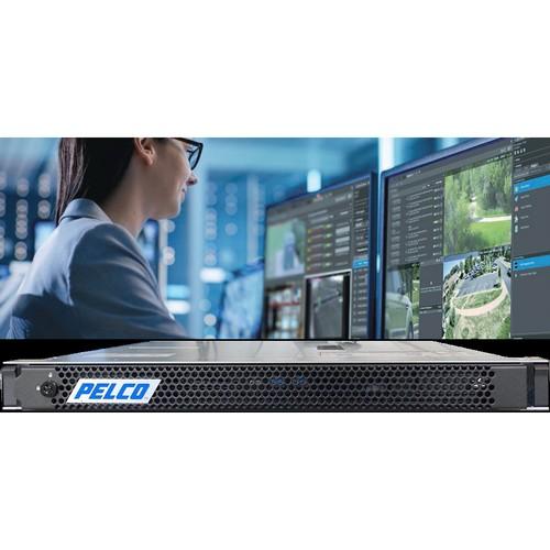 Новый стоечный сетевой видеорегистратор NVR Pelco размера 1U