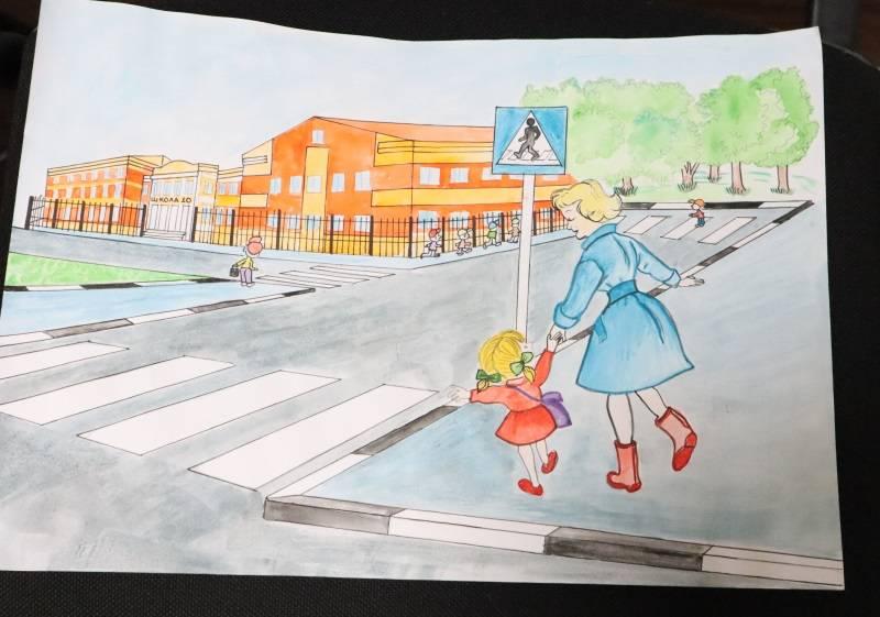 Рисунки учащихся школы №10 Саранска направили в администрацию города
