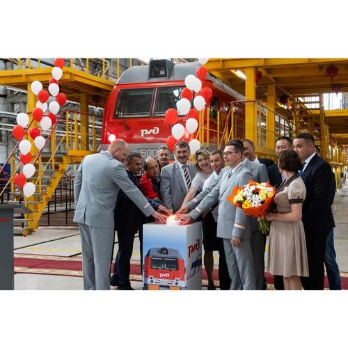 В сервисном локомотивном депо Чита открылся цех по ремонту «Ермаков»