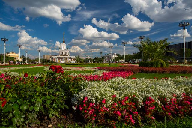 Цветочный фестиваль на ВДНХ