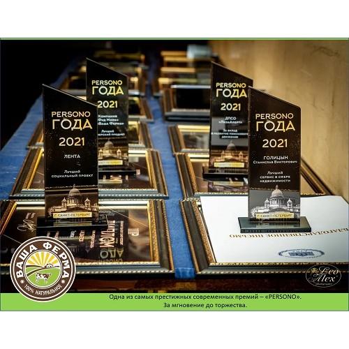 В Санкт-Петербурге прошла премия «Persono года»