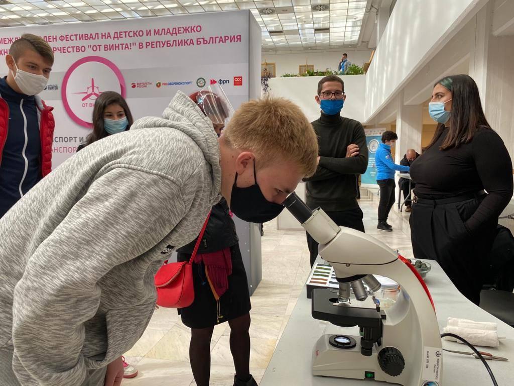 Научные эксперименты на фестивале «От винта!» в Болгарии