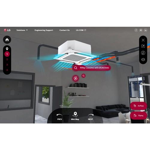 Решения LG HVAC в новом виртуальном интерактивном шоуруме