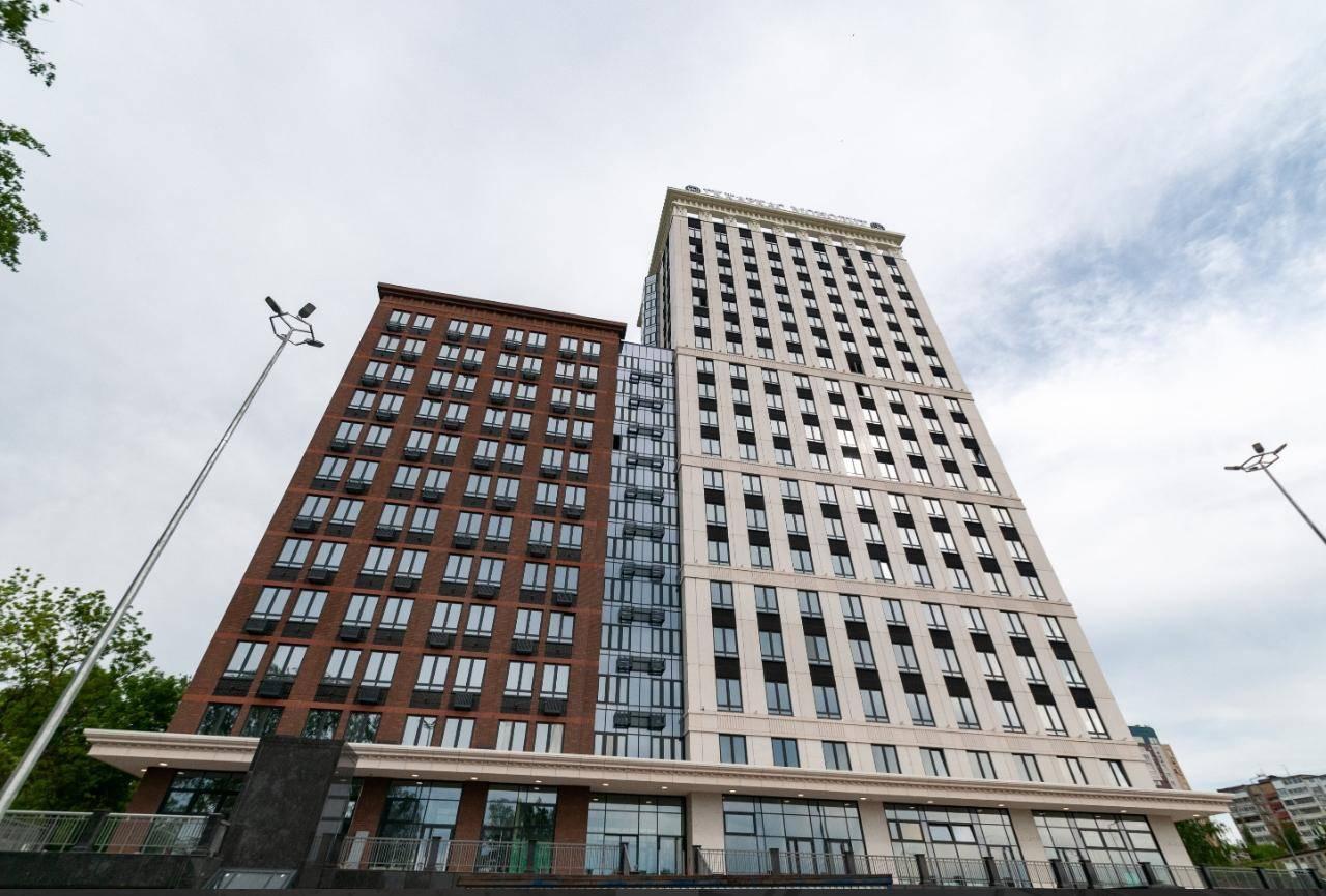 Оконные системы Deceuninck в комплексе апартаментов в Нижнем Новгороде