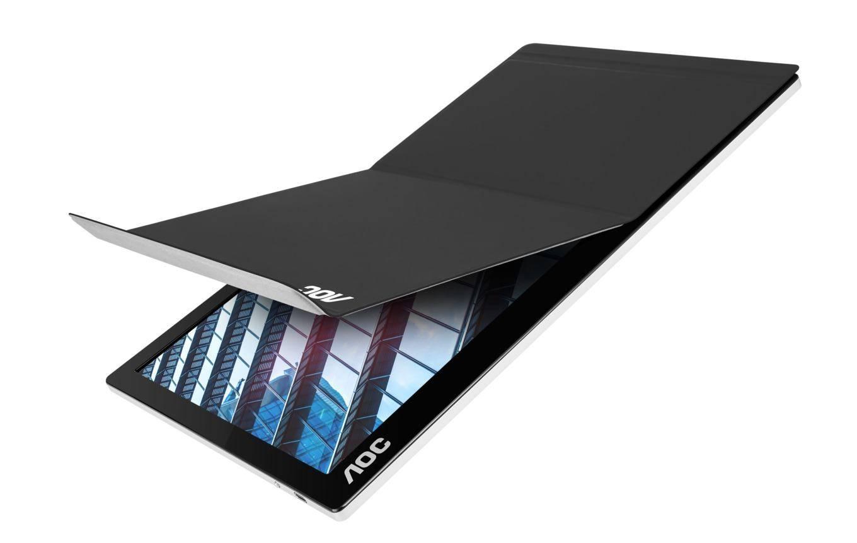 AOC представляет портативный 15.6-дюймовый дисплей I1601P