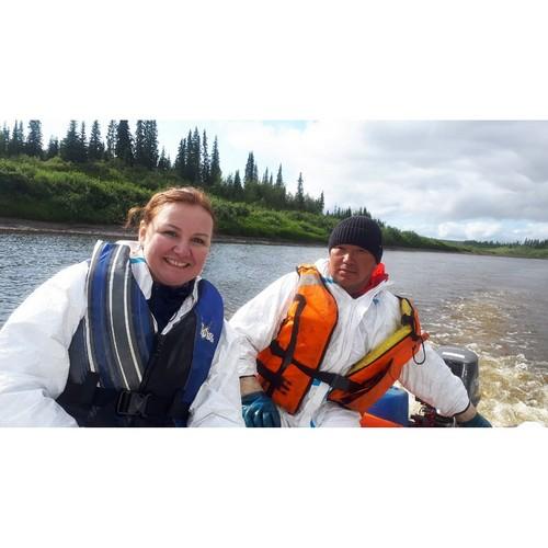 ОНФ принял участие в изучении последствий нефтеразлива на реке Колва