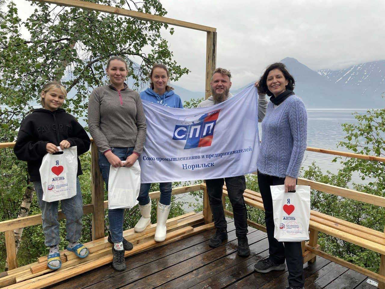 КСП Арктики провел туристический бизнес-уикенд на плато Путорана