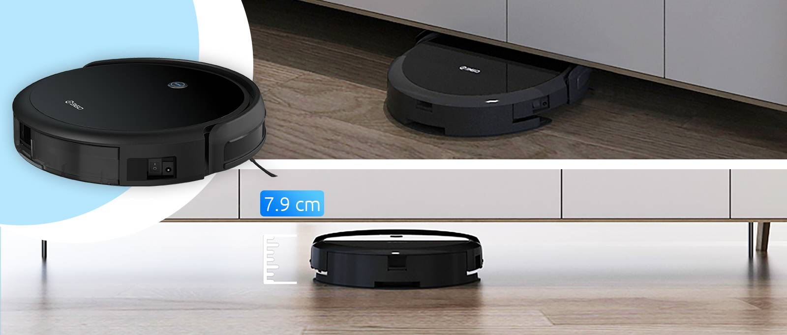 Робот-пылесос 360 C50-1: мощность и эффективность в компактной форме