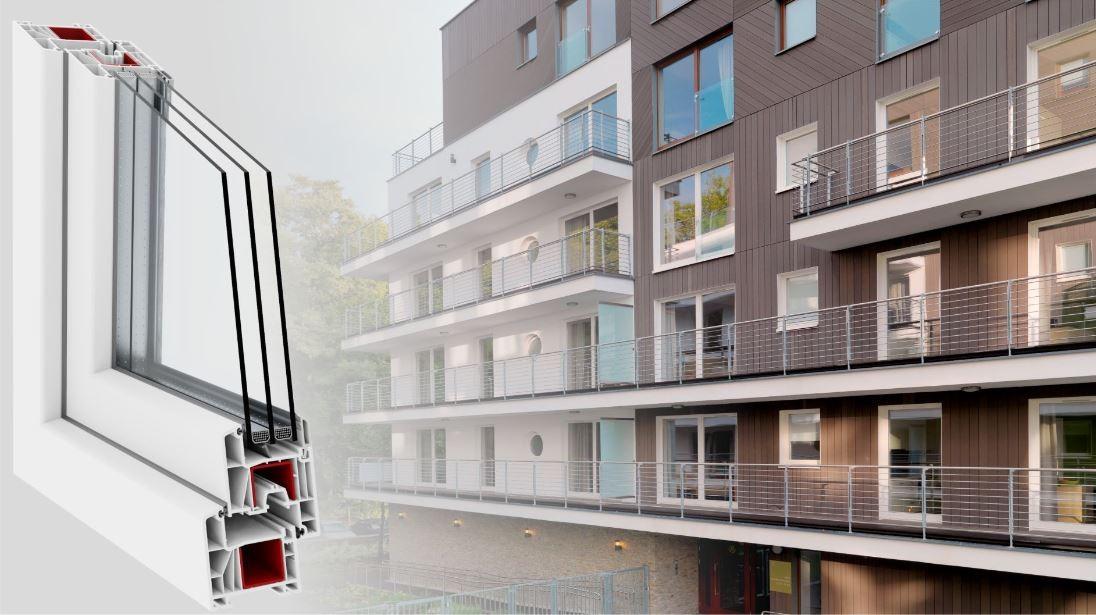 Deceuninck выводит на рынок уникальную оконную систему Bautec Urban