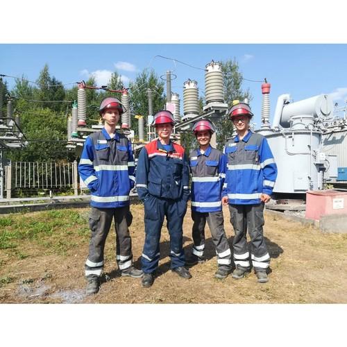 Студенческий отряд «Прометей-2021» завершил трудовую вахту в Ивэнерго