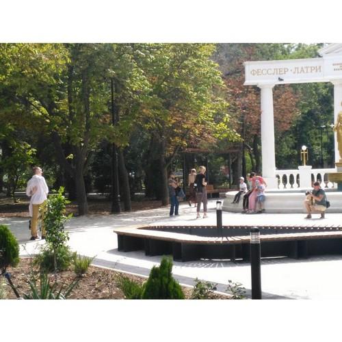Феодосия — город, комфортный для жизни: скверы и парки