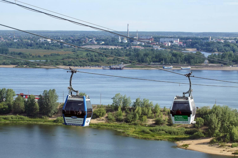 На ВДНХ открылась миниатюрная канатная дорога – копия новгородской