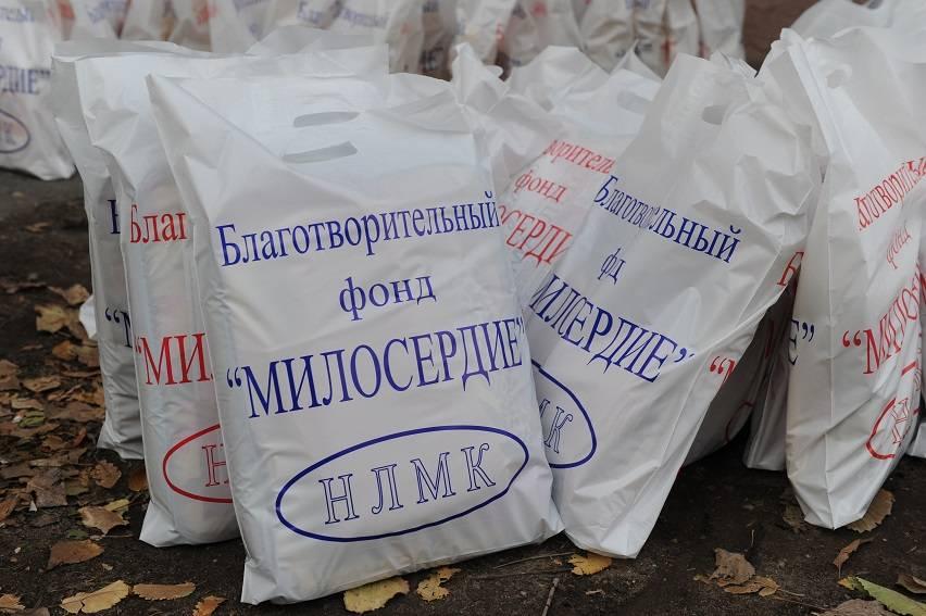"""Многодетные семьи получили от """"Милосердия"""" более 70 тонн продуктов"""