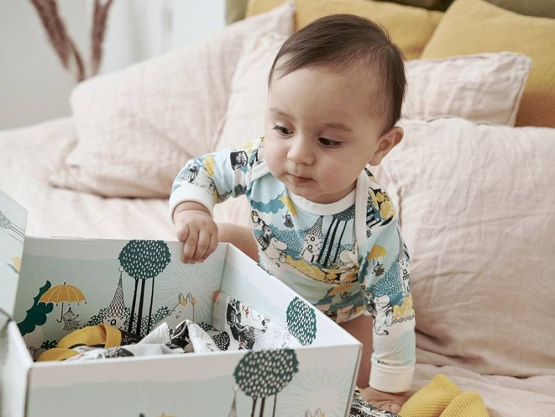 Наборы одежды Reima Baby Box новорожденному для первых шести месяцев