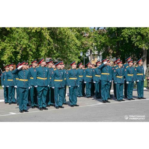 В Вооружённых Силах РФ ждут выпускников ТГУ