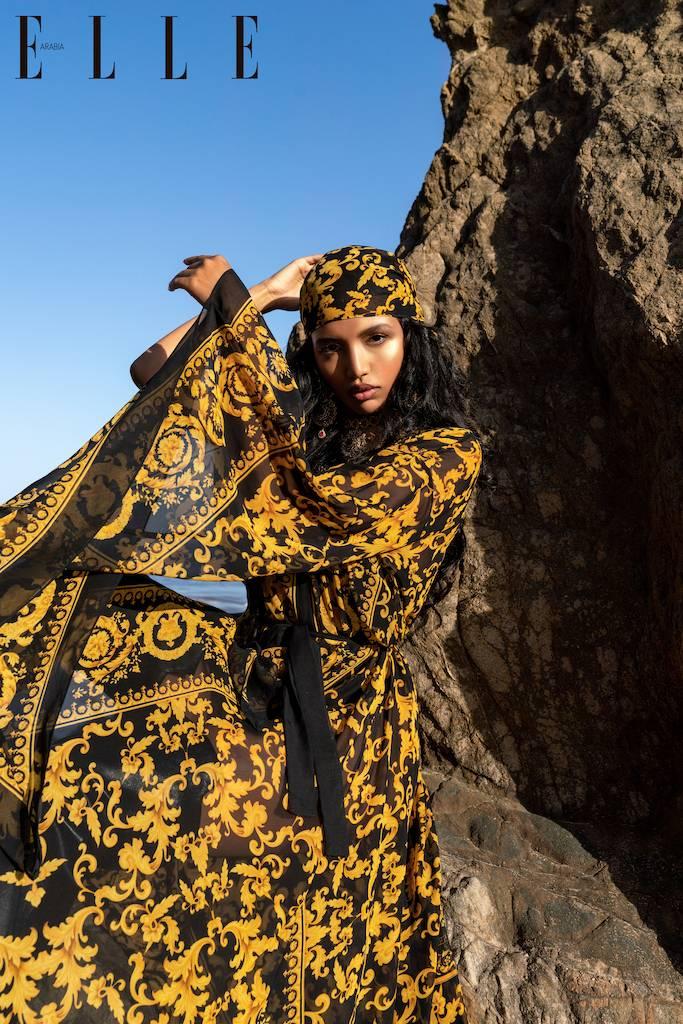 Кристина Менисова на обложке Elle Arabia