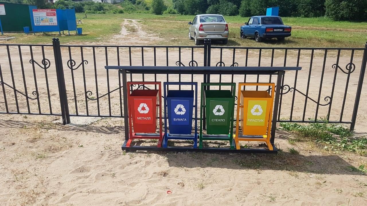 «Стальное дерево» помогло оборудовать пляж для сельских жителей