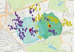 Возможность геокодирования данных пользователя на геопортале RuMap