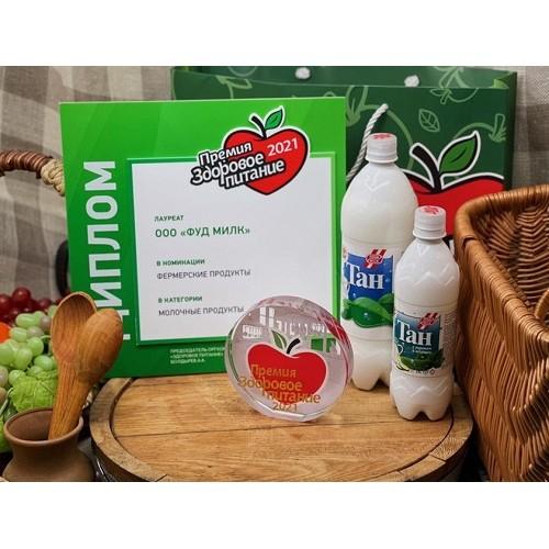 Компания «Фуд Милк» стала лауреатом премии «Здоровое питание»