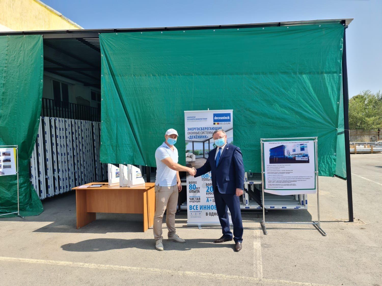 Глава Актюбинской области в Казахстане посетил партнёра Deceuninck