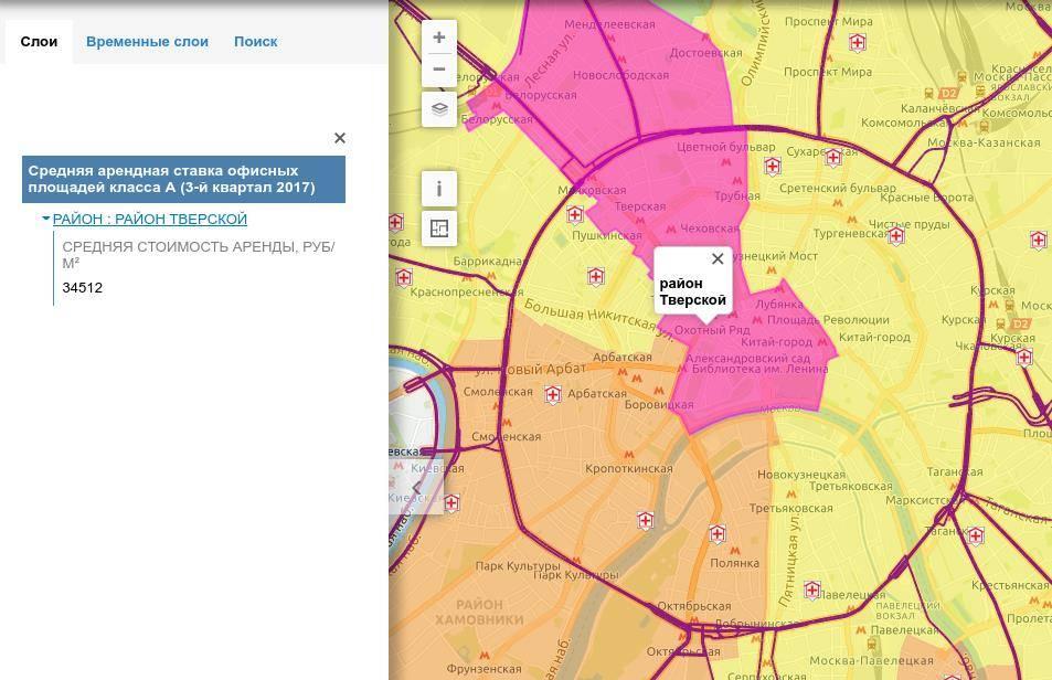 Пример публикации данных на геопортале RuMap