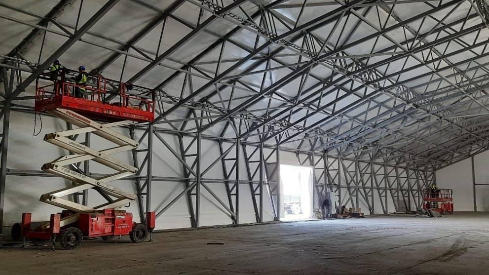 Инновации в строительстве быстровозводимых сооружений для Арктик СПГ2