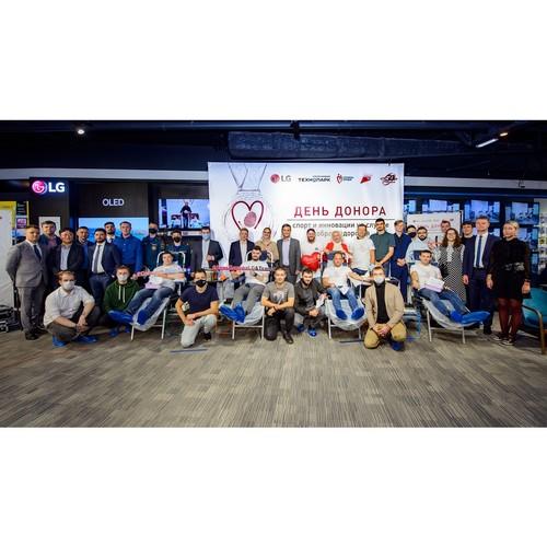 4-й День донора LG и «Технопарк в Санкт-Петербурге