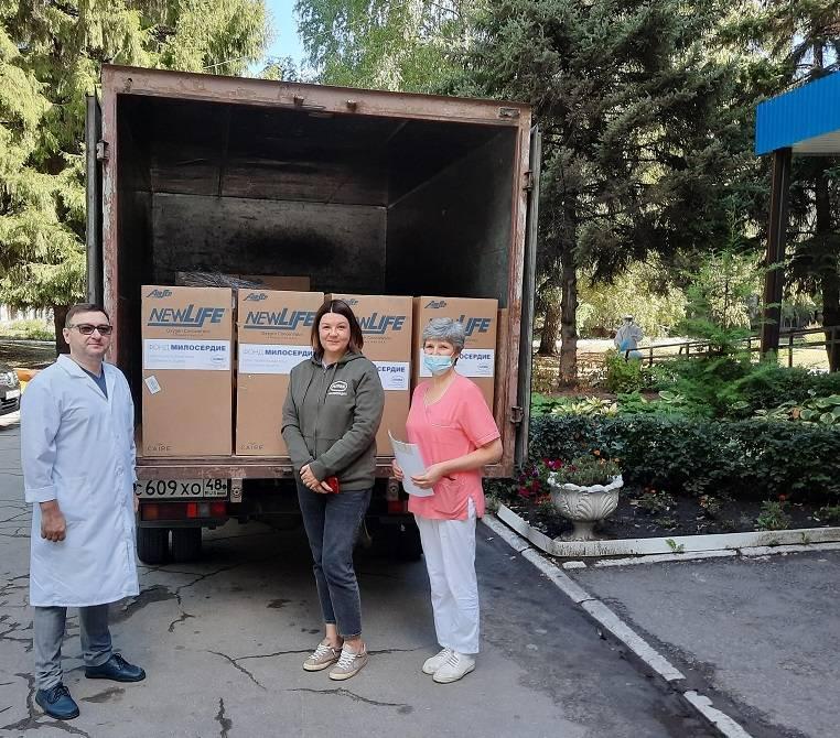 «Милосердие» передало медикам оборудование для лечения Covid-больных