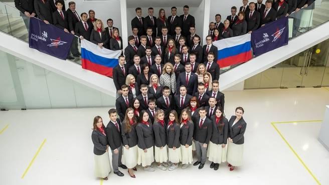 Татьяна Голикова встретилась с национальной сборной WorldSkills Russia