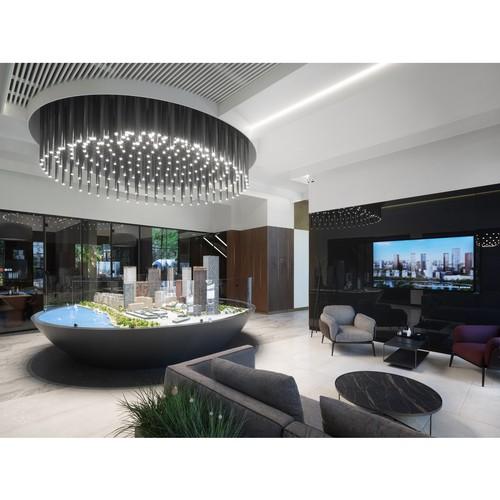 Архбюро MAD Architects создало офис продаж для ЖК «Сидней Сити»