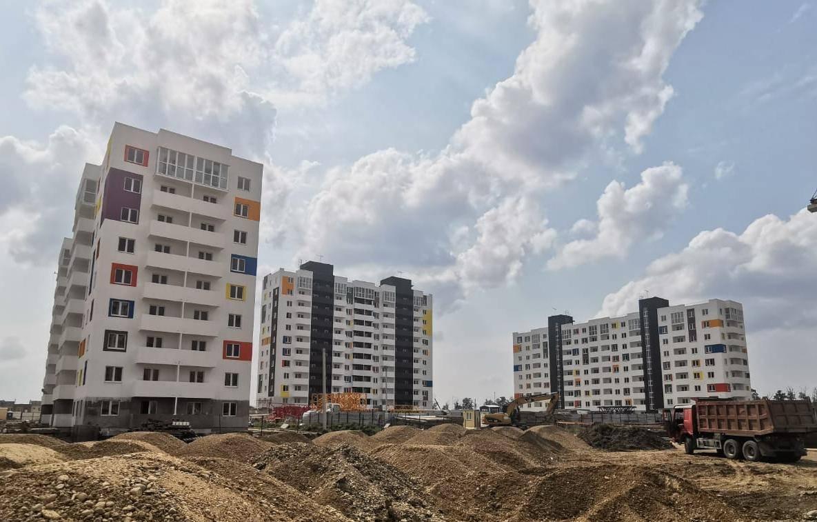 Новый микрорайон «Южане» в Краснодаре остеклили окнами Deceuninck