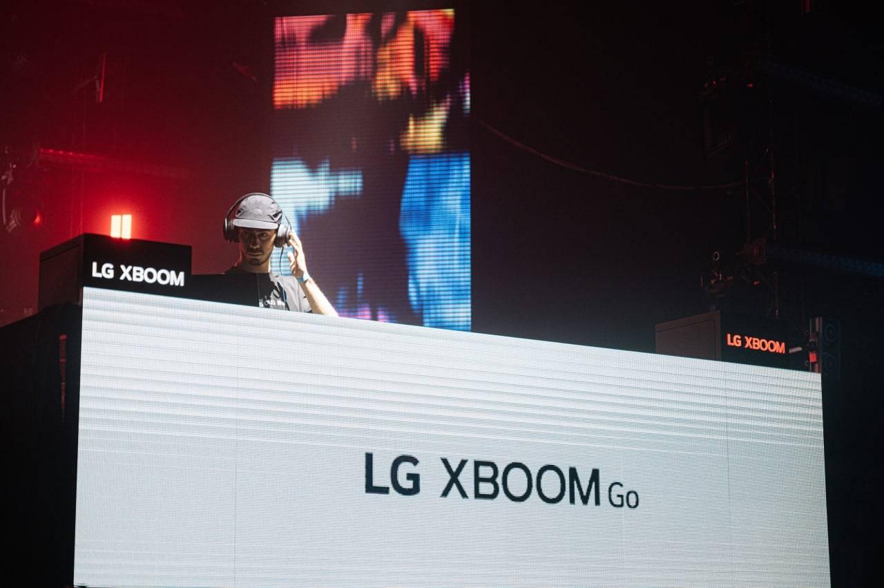 Компания LG выступила партнёром Locals Only с LG Xboom и LG Tone Free