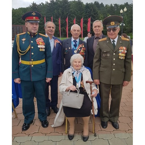 Празднование 76 годовщины окончания Второй мировой войны