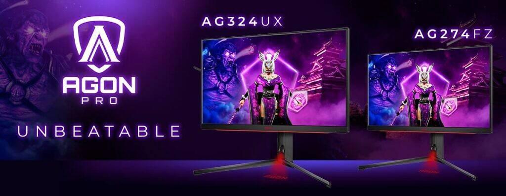 Представлены новые профессиональные киберспортивные мониторы Agon Pro