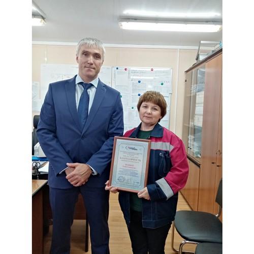 Директор Ханты-Мансийского филиала РуссНефти поздравил нефтяников