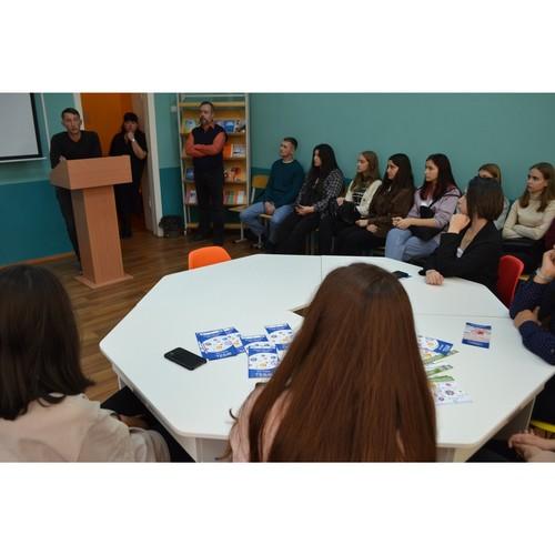 «Волонтер 2021» встретился с тюменскими студентами колледжа