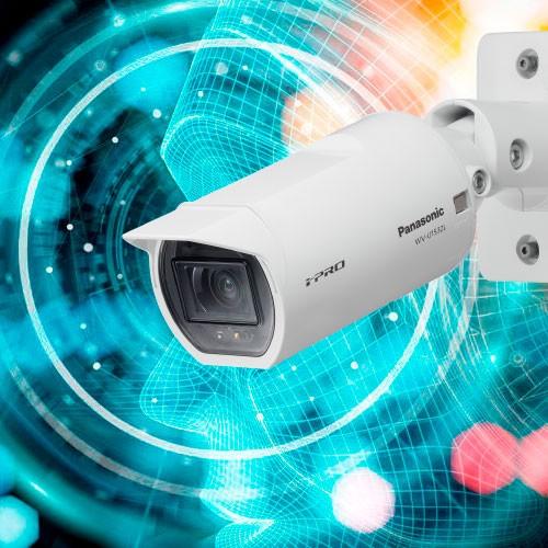 Новых камеры видеонаблюдения Panasonic серии S c процессором AI